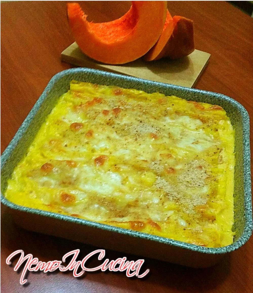 Lasagna di Zucca con pancetta affumicata2