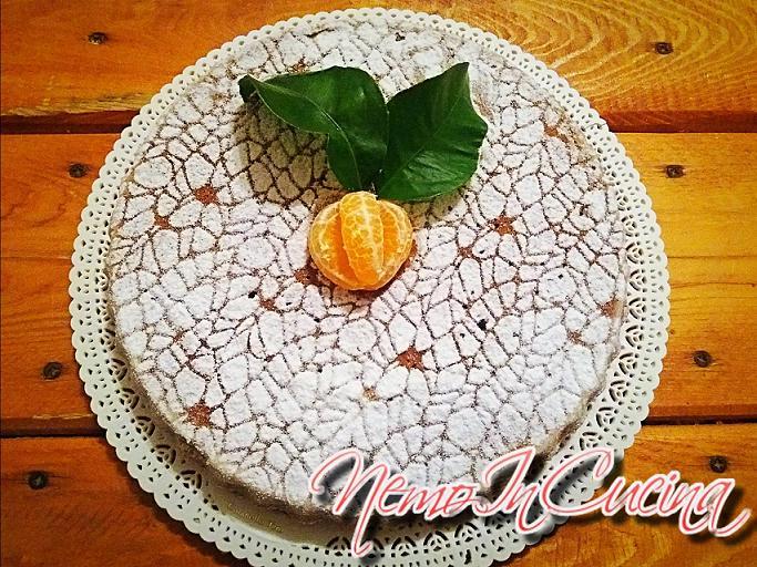 Cake al mandarino senza glutine