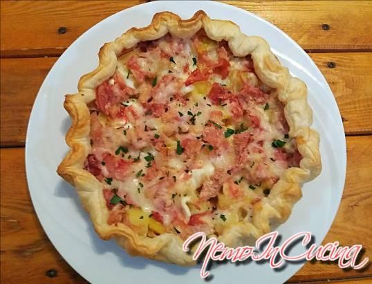 Torta salata di Patate, Cotto e Mozzarella.jpg
