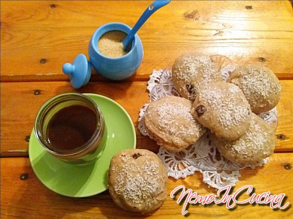 Biscotti al cioccolato e cocco senza glutine