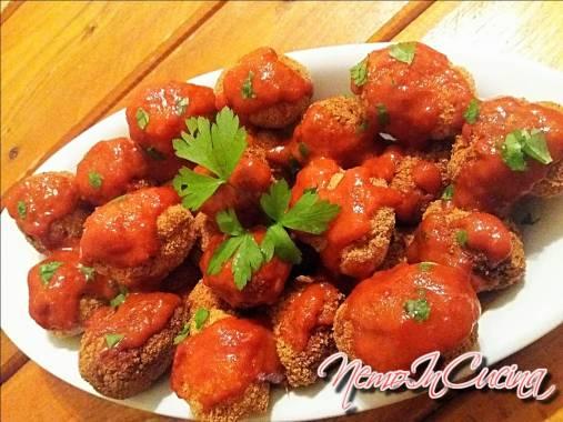 Nuggets di Pollo in salsa piccante