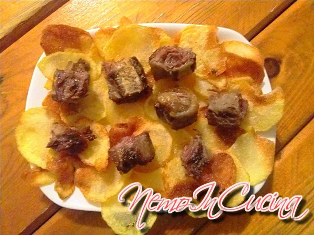 Vitello e Patate fritti
