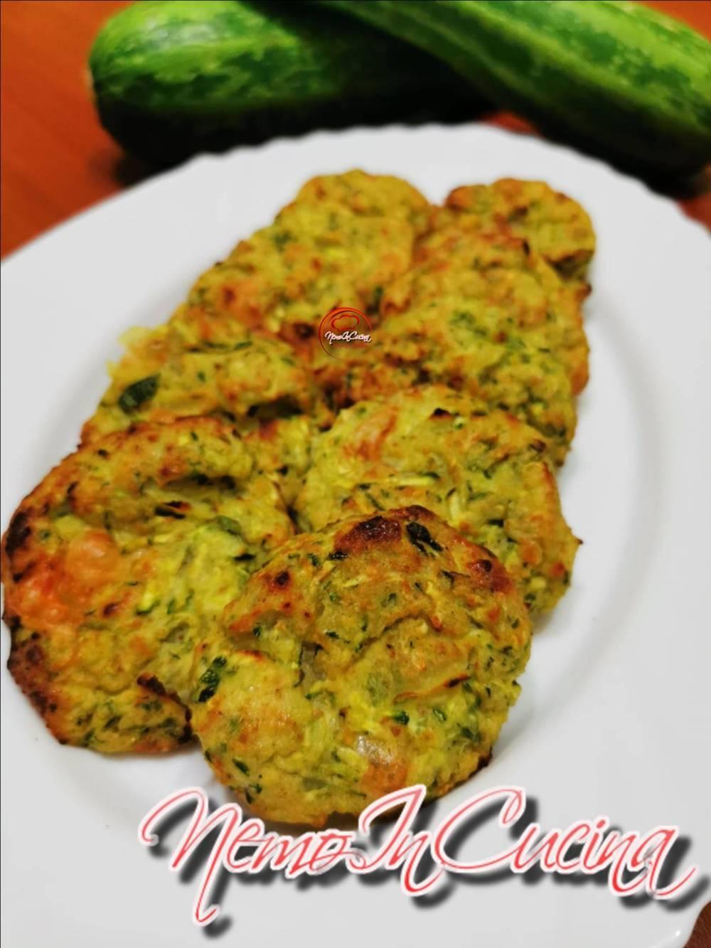 Polpette di Zucchine e Patate al forno