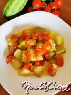 Zucchine con Pomodorini2